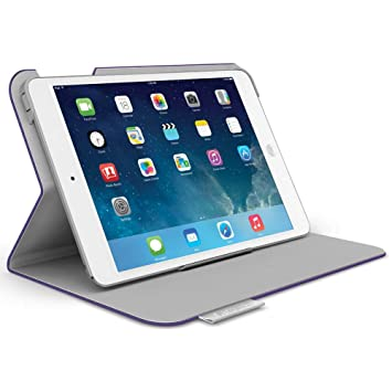 f384479906d Logitech Folio Protective Case for iPad Air, Purple 939 000711 available at  Amazon for Rs