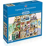 Gibsons Upstairs and Downstairs Jigsaw Puzzle (500 Pieces)