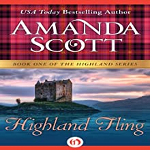 Highland Fling (       UNABRIDGED) by Amanda Scott Narrated by Carolyn Bonnyman