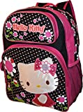 Hello-Kitty-Deluxe-embroidered-16-School-Bag-Backpack
