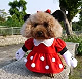 NACOCO Pet Clothes Pet Costume Minnie Costumes Dog Clothes Pet Apparel (Small)