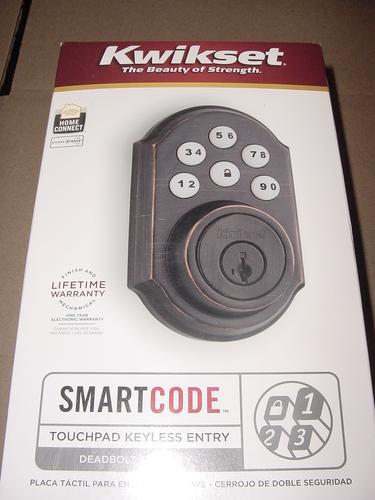 Kwikset 910 Z Wave Smartcode Electronic Deadbolt Featuring