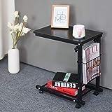 WSI Laptop Bett Tabelle, Computertisch Rutschfester Fuß Adjustable Persönlicher Moderner Laptop Schreibtisch Ausgangseinfaches Schreibtisch Bett Büro 30 48 56CM / Pattern 4 (Color: Pattern 4)