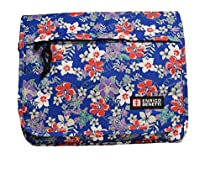Enrico Benetti Buenos Aires Floral Collection Cross Body Tablet Messenger Bag (Floral Blue)