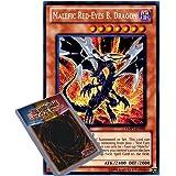 YuGiOh : YMP1-EN001 Limited Ed Malefic Red-Eyes B. Dragon Secret Rare Card - ( Movie Pack Yu-Gi-Oh! Single Card )