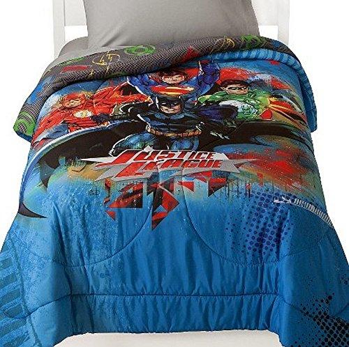 Justice League Microfiber Twin Comforter