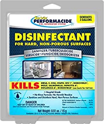 Performacide 102003 Disinfectant for Hard Non-Porous Surfaces Gallon Refill