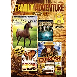 Vol. 5-8-Movie Family Adventure Pack