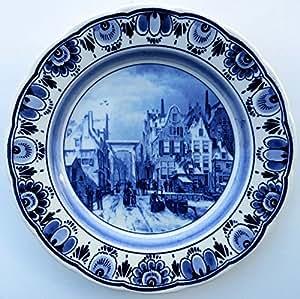 Amazon.com | Wall Plate - Delfts Blauw Bord (Delft Blue Plate with