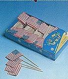 Flaggen-Picker: USA, 80 mm, 200er-Pack