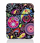 Colorful Pattern 10 Laptop Bag Case Flip Sleeve Cover for 10.1 Acer Iconia A200 W500 A500 A501 / Archos Arnova 9 10 G2 / 10 B / 101 G9 Tablet