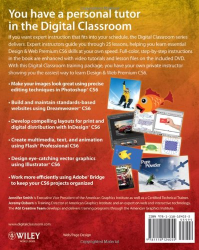 Adobe Creative Suite 6 Design & Web Premium Digital Classroo (Digital Classroom)