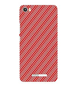 EPICCASE stripe cross Mobile Back Case Cover For Lava Iris X8 (Designer Case)