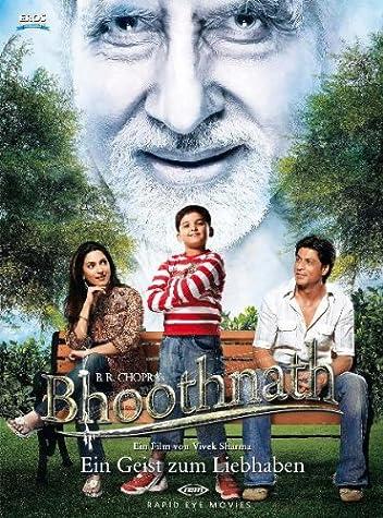Призрак виллы Натхов / Bhoothnath (Вивек Шарма / Vivek Sharma) [2008 г., Детский, семейный, мелодрама, комедия, фэнтази, DVDRip] MVO + Original (Hindi) + Ger