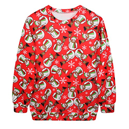 3D Christmas Design Unisex Long Sleeve Sweatshirts (A-2) (Drake And Lil Wayne Shirt compare prices)
