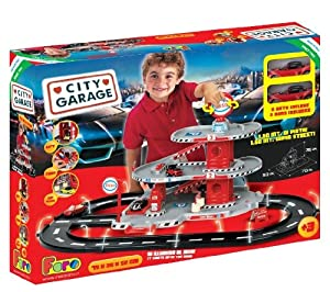 Faro Beta Junior Garage Three Levels/ Two Cars and Track