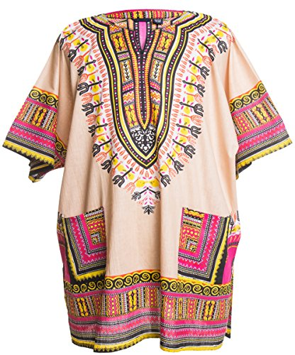 ragstock-traditional-african-print-unisex-dashiki-tan