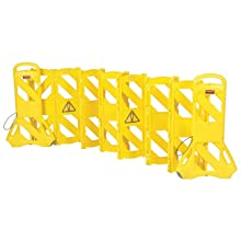 Rubbermaid Commercial FG9S1100YEL 40-inch Mobile Barrier, Yellow