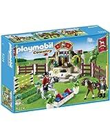 Playmobil - 5224 - Jeu de Construction - Piste d'obstacles Hippiques