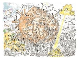 ameisen puzzle l 39 arca di noe arche noah spielzeug. Black Bedroom Furniture Sets. Home Design Ideas