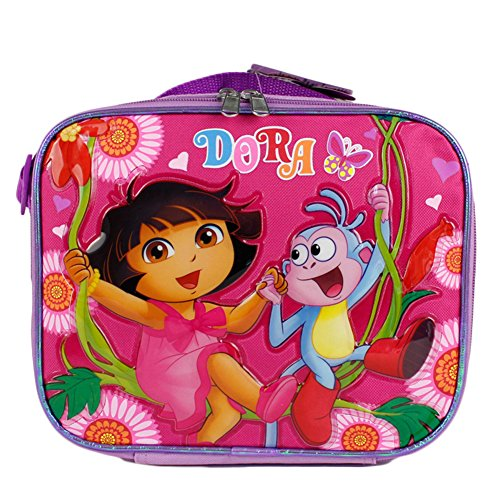 Lunch Bag - Dora The Explorer - Dity Daisy 9""
