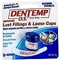Dentemp O.s. One Step Filling Dental Repair Material, Maximum Hold - 1 Each, 2 Pack