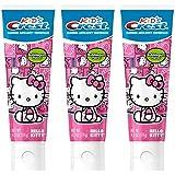 Kid's Crest Hello Kitty Bubblegum Flavor Toothpaste (Pack of 3)