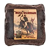 Big House Home Collection Bull Durham Home Accent Pillows, 16 by 16-Inch