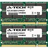 A-Tech 2GB KIT 2x 1GB HP-Compaq Pavilion dv5276eu (DDR) dv5277eu (DDR) dv5278eu (DDR) dv5279eu (DDR) dv6573cl dv6660ev Notebook dv6807eo (DDR1) SO-DIMM DDR NON-ECC PC2700 333MHz RAM Memory