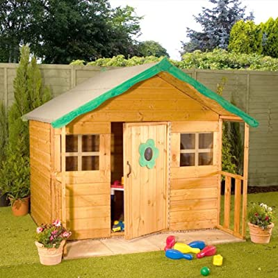 Childrens Wooden Playhouse 6 x 5 OGD082