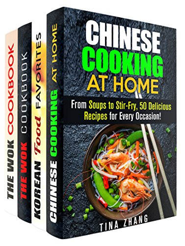 Asian Meals Box Set (4 in 1): Chinese, Korean, Stir-Fry Cooking for Every Occasion (Traditional Recipes & National Cuisine) by Tina Zhang, Martha Olsen, Jessica Meyer, Carmen Haynes