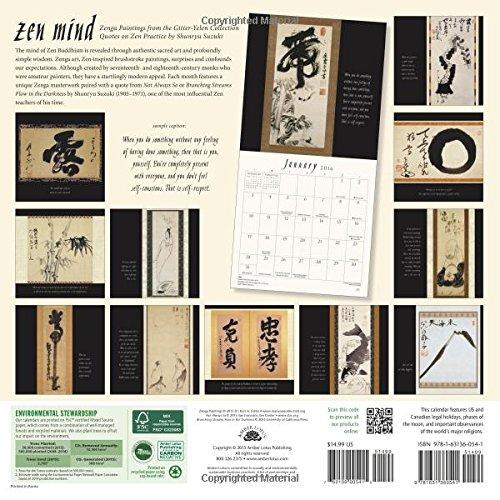 Zen Mind 2016 Calendar: Zenga Paintings from the Gitter-Yelen Collection