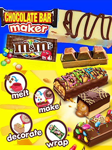 CHOCOLATE CANDY BAR MAKER Toy Oreo Cookies M&Ms Sweet Treats Family Kids Fun Hersheys Chocolate