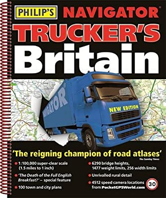 Philip's Navigator Trucker's Britain: Spiral (Road Atlas)