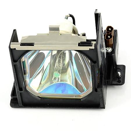 haiwo 610-325-2957/LMP98de haute qualité Ampoule de projecteur de remplacement compatible avec boîtier pour projecteur Sanyo PLV-80/L;/EIKI LC-W3.