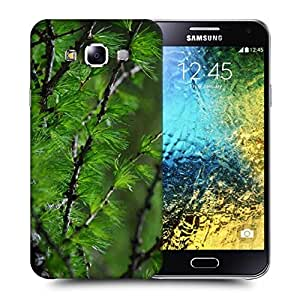 Snoogg Small Branches Printed Protective Phone Back Case Cover ForSamsung Galaxy E5