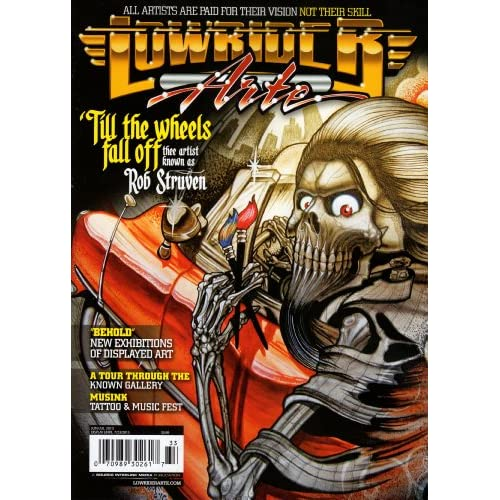 "Lowrider Arte - Jun/July 2013 ""Rob Struven"" (Lowrider Arte): Edgar"