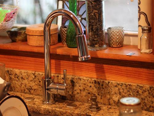 Moen 7175 Level One Handle High Arc Pullout Kitchen Faucet