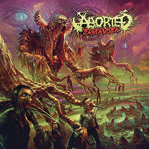 CD : Aborted - Terrorvision (Limited Edition, Boxed Set, Germany - Import)