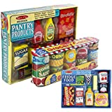 Maven Gifts: Melissa & Doug Fridge Food Set with Grocery Cans and Pantry Products