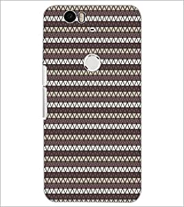 PrintDhaba Pattern D-5902 Back Case Cover for HUAWEI NEXUS 6P (Multi-Coloured)
