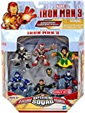 Super Hero Squad Iron Man 3 Exclusive (Iron Man Mark 42, Ghost Armor, Deep Depth, Rapid Deploy, Iron Patriot & Mandarin), 6-pack