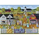 Annual Quilt Sale a 1000-Piece Jigsaw Puzzle by Sunsout Inc.