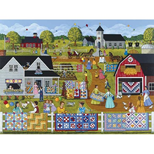 SunsOut 61301 1000 Piece Annual Quilt Sale Puzzle Art and Craft Product (Quilts Sale compare prices)