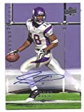 SIDNEY RICE 2008 Upper Deck Signature Shots #SS18 AUTOGRAPH Card Seattle Seahawks Football at Amazon.com