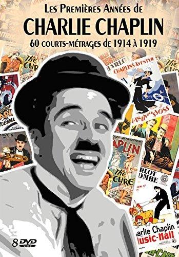 Les Premi??res Ann??es de CHARLIE CHAPLIN - 60 courts-m??trages de 1914 ?? 1919 Coffret 8 DVD