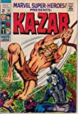img - for Marvel Super-Heroes #19, March 1969. Ka-Zar. 1950s Sub-Mariner, Human Torch, and Marvel Boy. Barry Windsor-Smith cover book / textbook / text book
