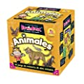 Green Board Games Brainbox Animales - Juego de memoria