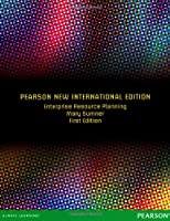 Enterprise Resource Planning: International Edition Front Cover