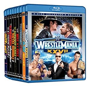 WWE Pay-Per-View Blu-Ray Collector Pack (Amazon Exclusive)